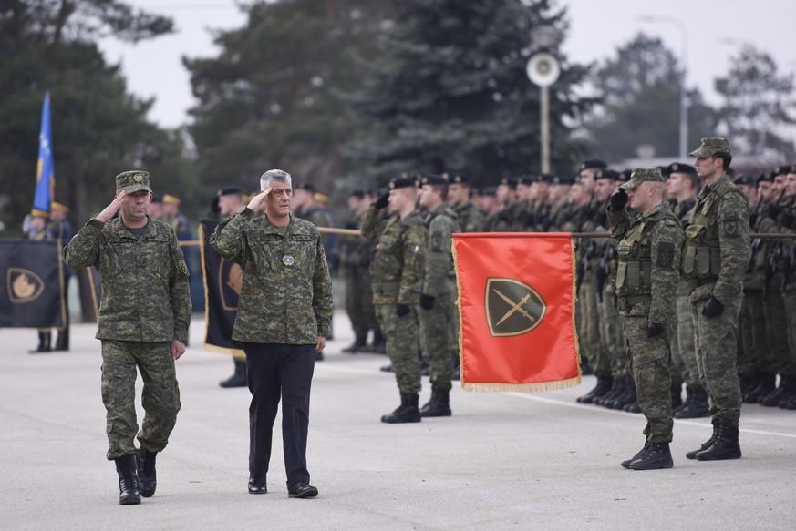 Jugoslawien Karte 2018.Kosovo Gibt Sich Eine Eigene Armee Und Erbost Serbien Watson