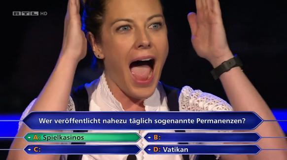 Wer wird Millionär?: Oktoberfest-Kellnerin erspielt 500.000 Euro