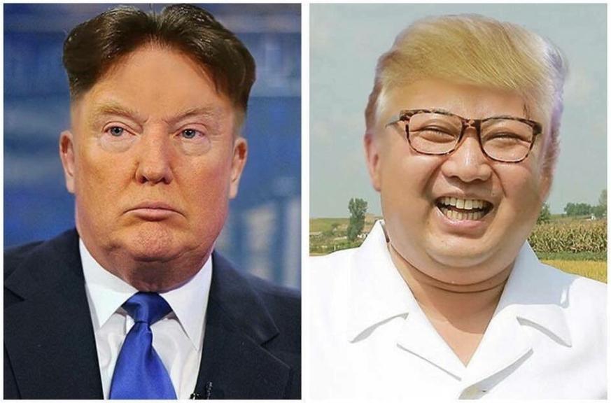 Bildergebnis für Trump and Kim