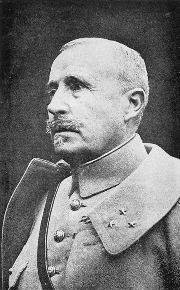 General Nivelle Erster Weltkrieg Chemin des Dames (Wikipedia/PD)