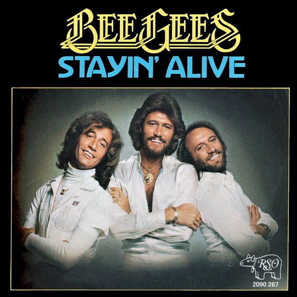 <strong>«Stayin' Alive»</strong> von den Bee Gees