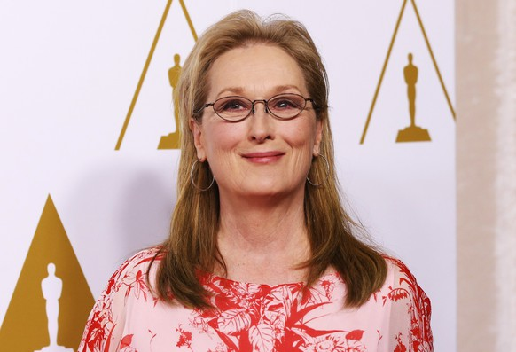 Best actress in a leading role nominee Meryl Streep arrives at the 86th Academy Awards nominees luncheon in Beverly Hills, California  in this file photo taken February 10, 2014.