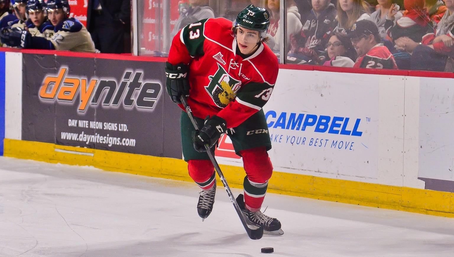 New Jersey wählte im NHL-Draft Hischier als Nummer eins