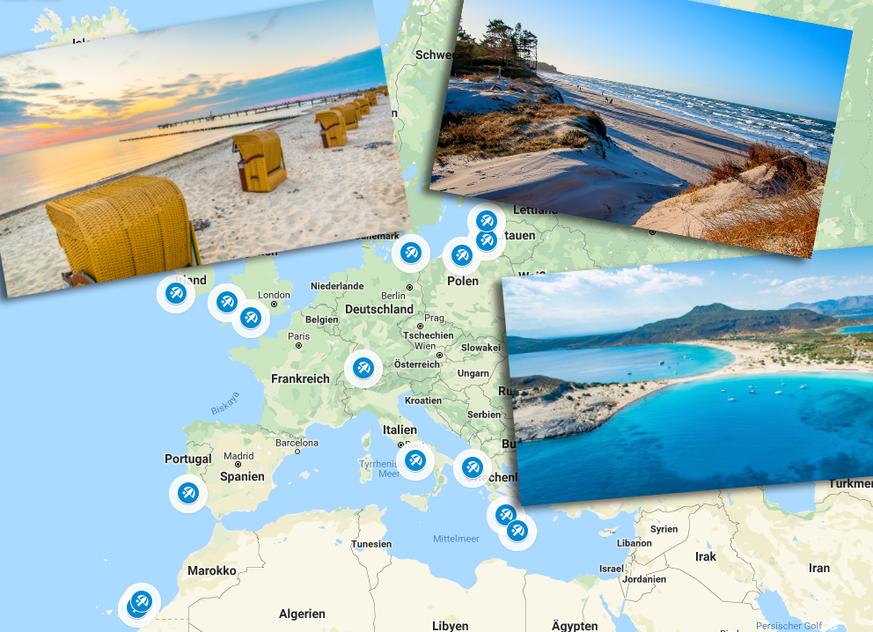 Reisen in den Ferien: Das sind die schönsten Strände Europas