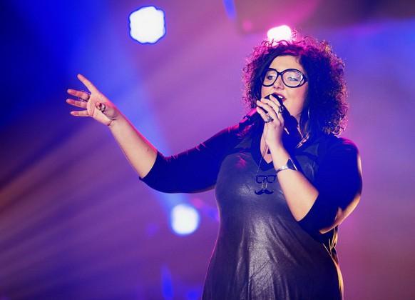 Céline Bart aus La Cibourg NE The Voice of Switzerland