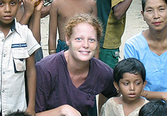 This undated image provided by University of Texas at Arlington shows Kaci Hickox. In a Sunday, Oct. 26, 2014 telephone interview with CNN, Hickox, the nurse quarantined at a New Jersey hospital because she had contact with Ebola patients in West Africa, said the process of keeping her isolated is
