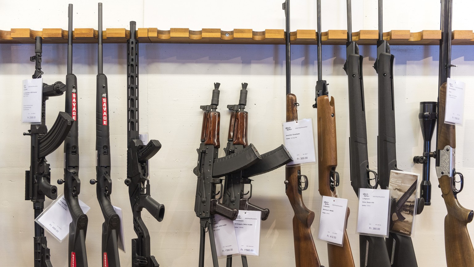 ARCHIV -- ZU DEN ABSTIMMUNGEN AM SONNTAG, 19. MAI 2019, UEBER DAS EU-WAFFENRECHT UND DEN AHV-STEUERDEAL, STELLEN WIR IHNEN FOLGENDES BILDMATERIAL ZUR VERFUEGUNG -- 