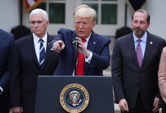 USA TRUMP CORONAVIRUS NATIONAL EMERGENCY