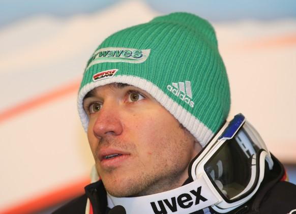 28.01.2014; Schladming; Ski alpin - Schladming 2014 - Slalom Maenner; Felix Neureuther (GER) (Martin Huber/Expa/freshfocus)