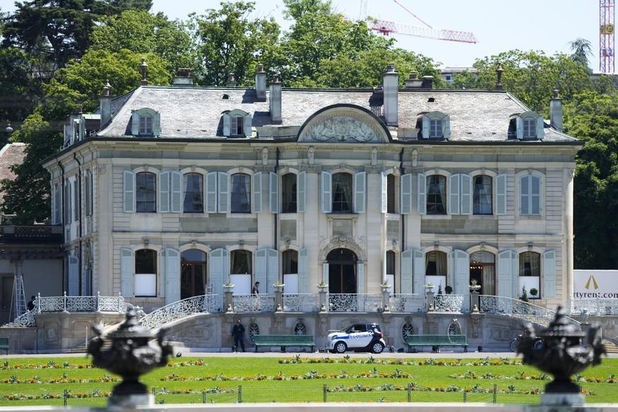 Die Villa «La Grange» in Genf.
