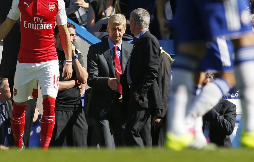 Football - Chelsea v Arsenal - Barclays Premier League - Stamford Bridge - 19/9/15