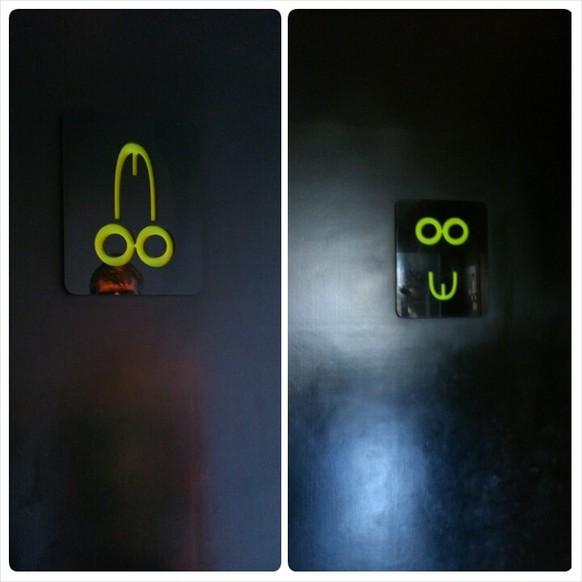 Kreative Toiletten Schilder Watson