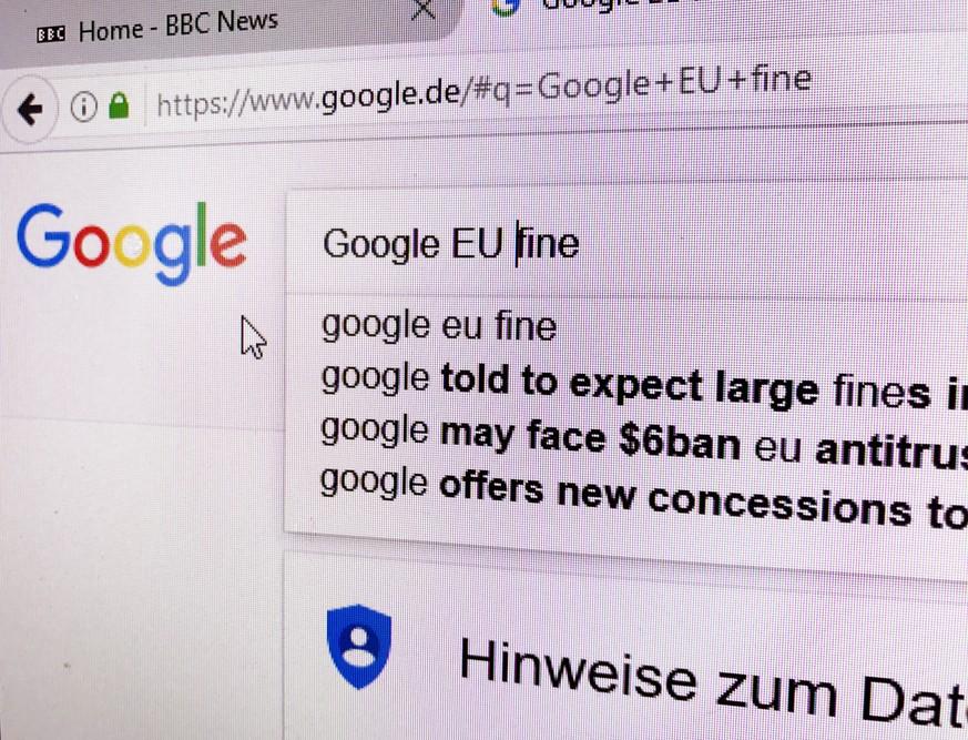 ROUNDUP: EU-Kartellstrafe lässt Gewinn von Google-Mutter Alphabet einbrechen