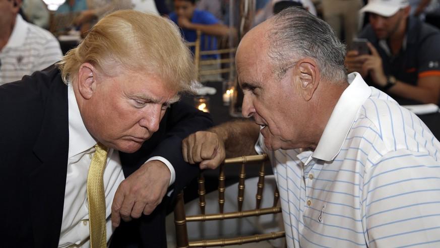 Giuliani, Hearings, Syrien: Es wir eng für Trump