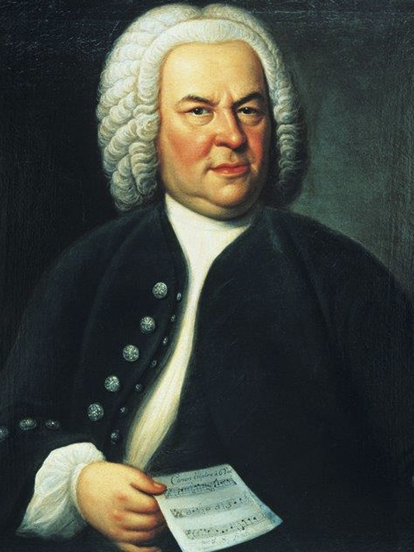 The undated reproduction provided by the Bach Archive in Leipzig shows the portrait of Johann Sebastian Bach by Leipzig painter Elias Gottlob Haussmann. The portrait of the German composer is being returned to his home city after a 250-year odyssey that took it as far as the United States. The Bach Archive in the German city of Leipzig said Wednesday, April 29, 2015 the painting is a bequest from late American philanthropist William H. Scheide, a lifelong collector of the Baroque musician's music.  (Bach Archive Leipzig via AP)