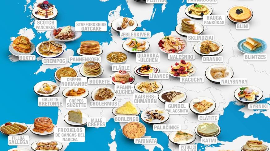 Beliebteste Gerichte Der Welt