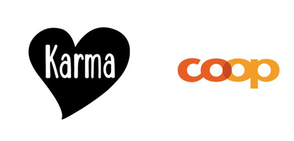 Coop Karma Logo Infobox native ad