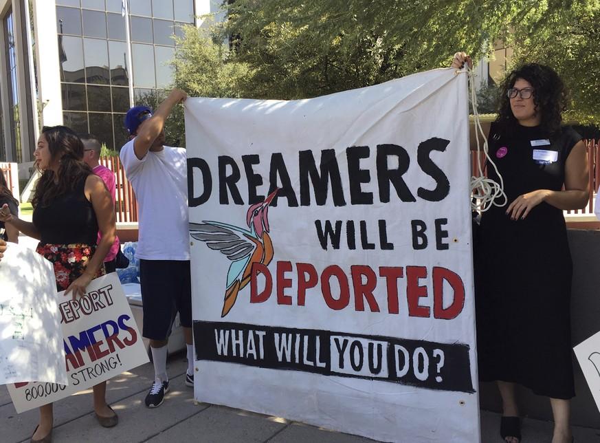 Trump will Kinder von Einwanderern abschieben