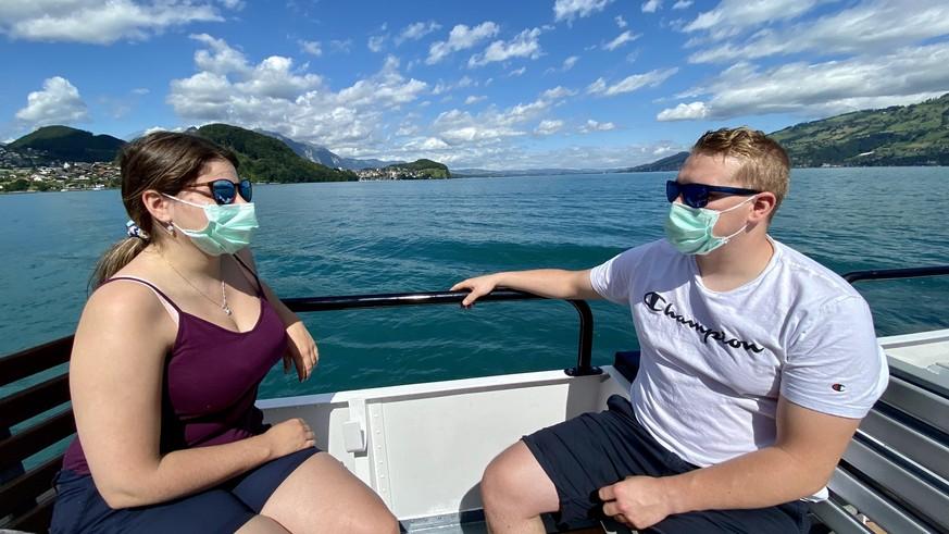 Mit der Maske auf den See: «Das ist schon erklärungsbedürftig»