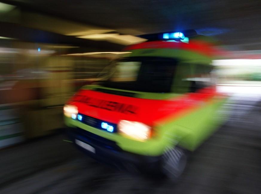 Schussabgabe bei Filmdreh: Drei Verletzte in Rapperswil-Jona