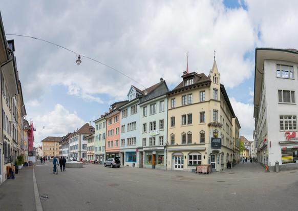 Winterthur Altstadt. Bild: Shutterstock