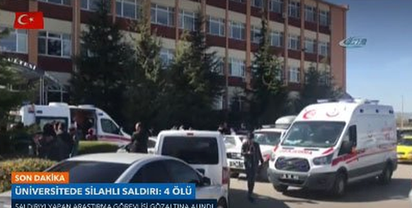Türkei: Mindestens vier Tote bei Angriff an Universität