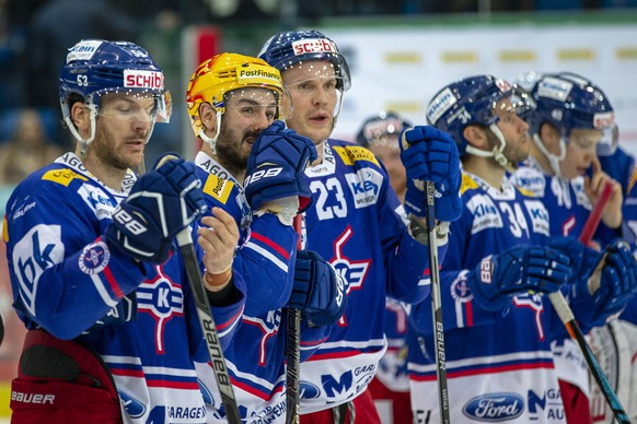 SCHWEIZ EISHOCKEY LIGAQUALIFIKATION KLOTEN RAPPERSWIL