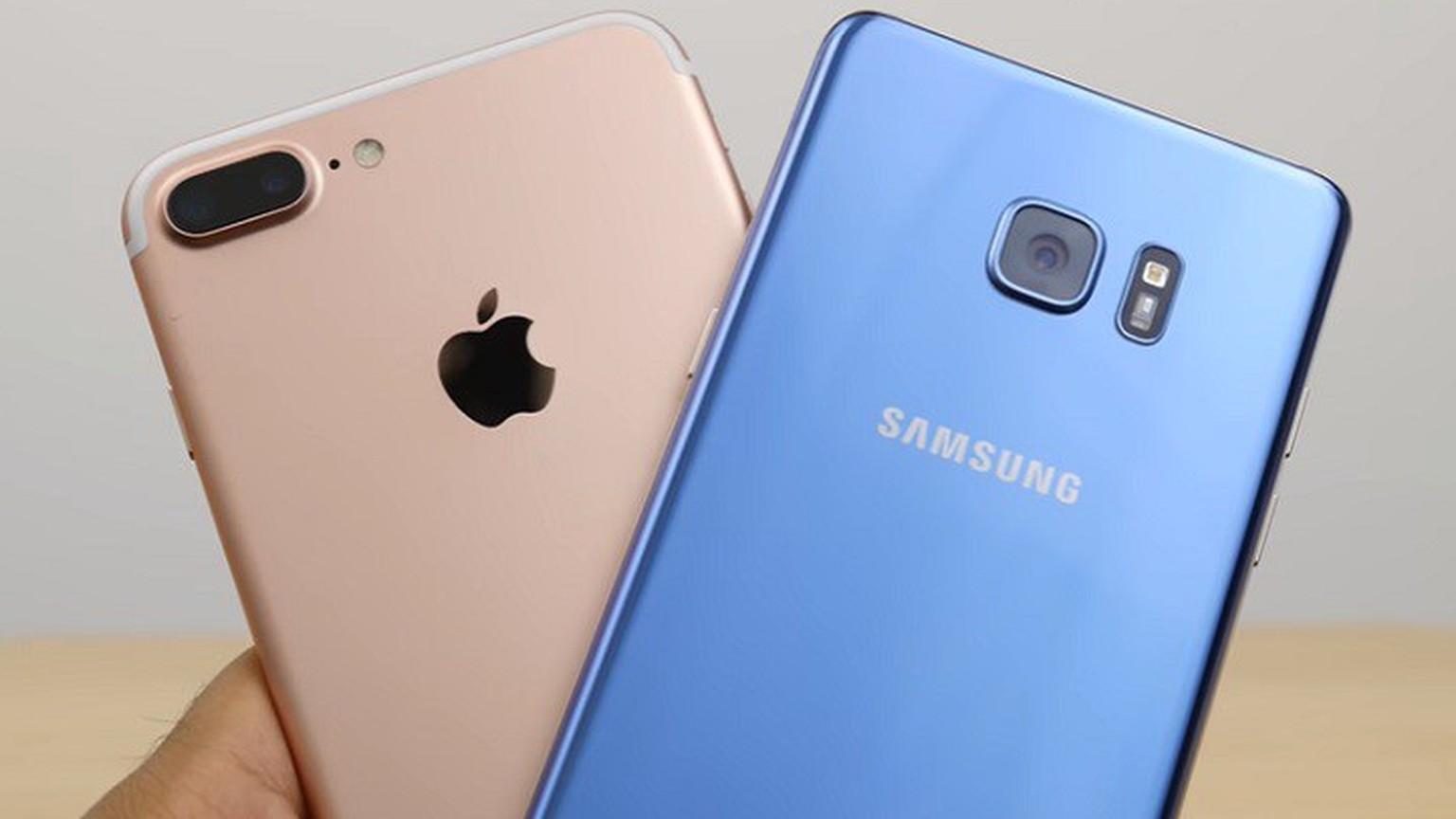IPhone 7 Vs Galaxy S7 Dieser Test Zeigt Wer Die Besseren Fotos Knipst