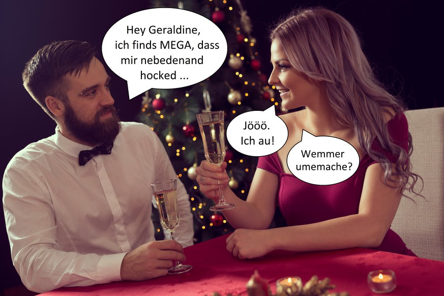 Lustige Bilder Weihnachtsessen.Weihnachtsessen Mit Chef Und Kollegen Lustige Bilder Watson