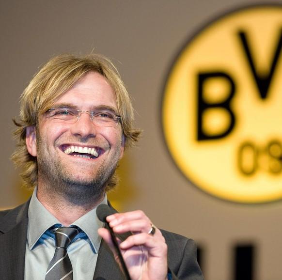 2008: Die Hochzeit – Im Juli übernimmt Jürgen Klopp Borussia Dortmund in einer schwierigen Phase. In der Vorsaison kämpfte der Klub noch gegen den Abstieg. - 8135780852037098
