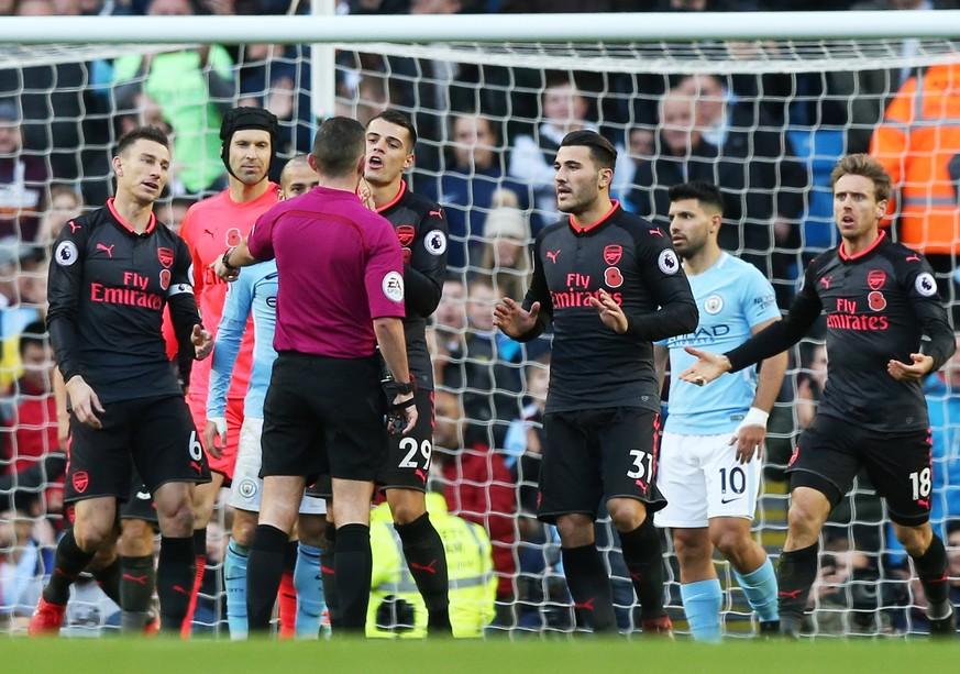 Spitzenreiter Manchester City schlägt Arsenal mit 3:1