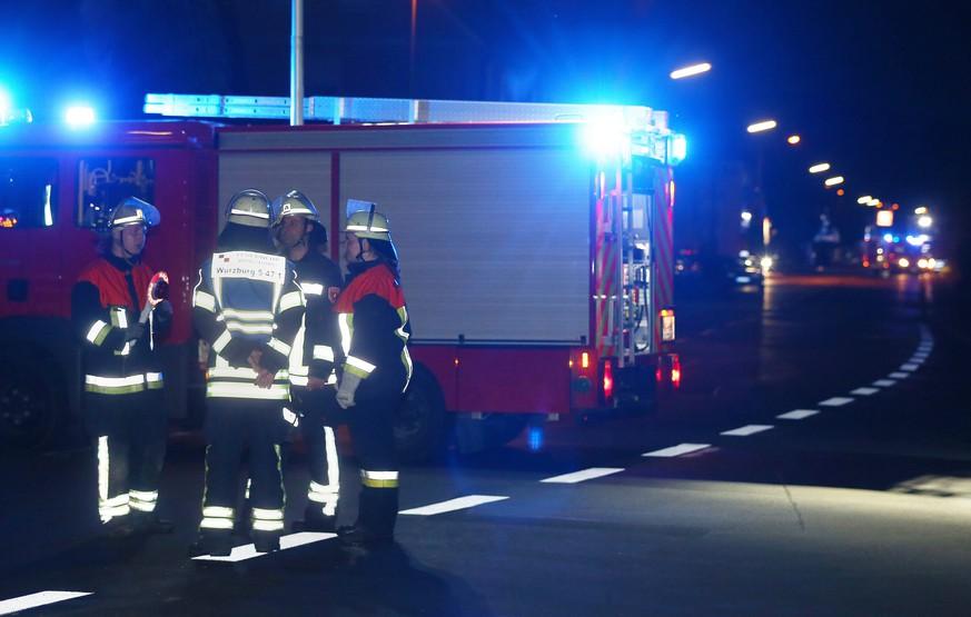 Amoklauf in Würzburg: Mann sticht Passagiere mit Axt nieder