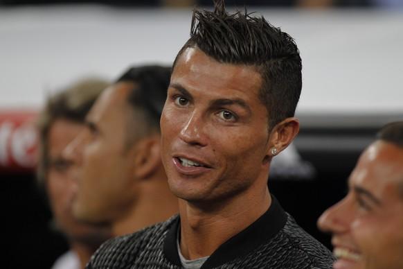 16.08.2016; Madrid; Fussball Trofeo Bernabeu - Real Madrid - Stade de Reims; Cristiano Ronaldo (Real)(Luis Cuesta/Cordon Press/freshfocus)