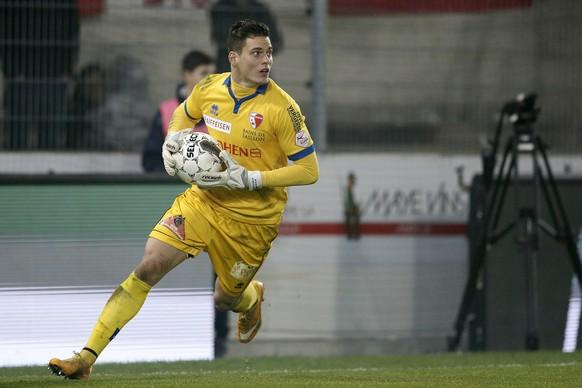 22.11.2014; Sion; Fussball Super League - FC Sion - FC Zuerich: Steven Deana (Sion)(Christian Pfander/freshfocus)