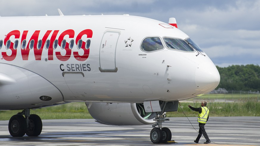 Swiss stoppt Abflüge mit Bombardier-Jets