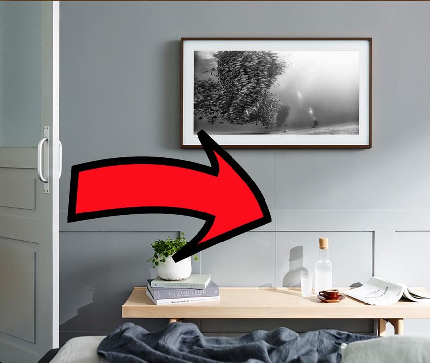 Samsung The Frame – dieses Traum-TV-Gerät will jeder haben - watson
