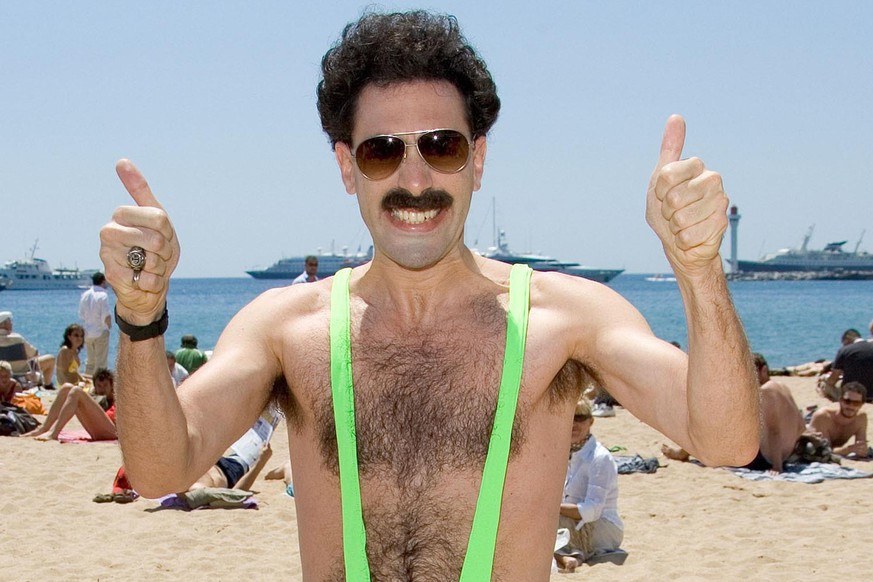 May 24, 2006: Sacha BarOn Cohen, aka Borat, at Cannes Film Festival In Canne, France. Credit: INFGoff.com  Ref: kguk-01
