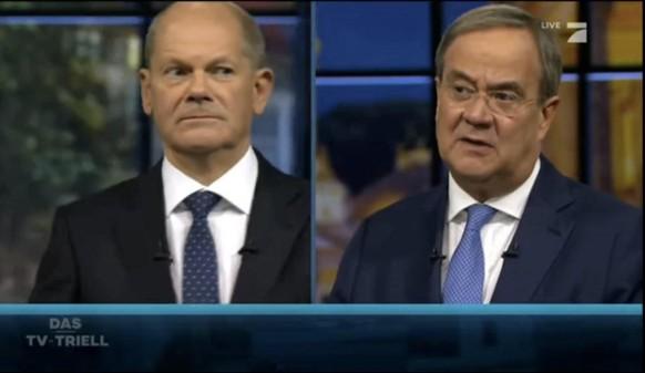 Scholz gewinnt mit 42 % auch drittes TV-Triell – Laschet bleibt schwach