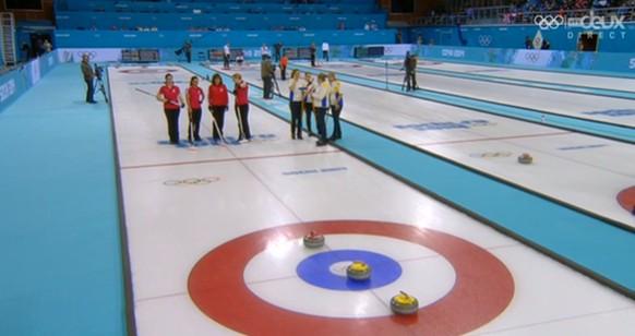 Curling Schweiz Schweden