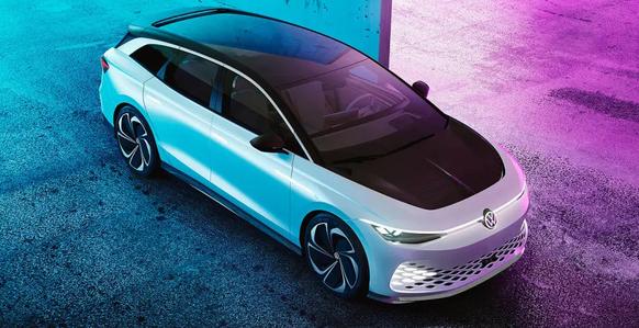 VW enthüllt seinen ersten elektrischen Familienkombi – mit einem richtig grossen Akku