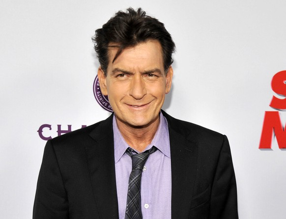 FILE - In this April 11, 2013 file photo, Charlie Sheen, a cast member in