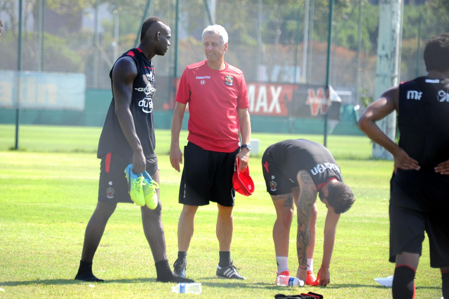 01.09.2016; Nizza; Fussball Ligue 1 - Training OGC Nizza;