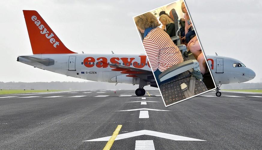 Easyjet: Passagierin nach Genf muss ohne Lehne fliegen