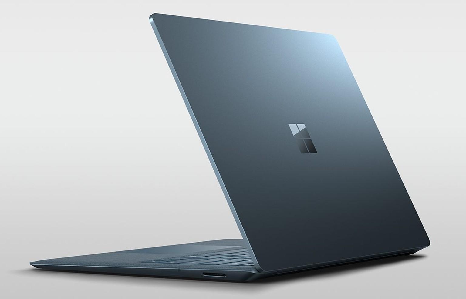 microsoft surface laptop mit windows 10 s das neue. Black Bedroom Furniture Sets. Home Design Ideas