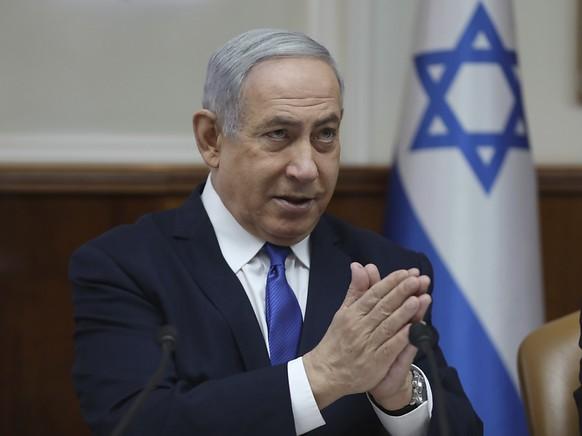 Wegen Korruption angeklagt: Israels Premierminister Benjamin Netanjahu.