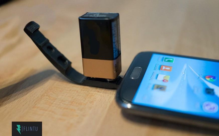 so einfach laden sie ihr smartphone mit einer 9 volt