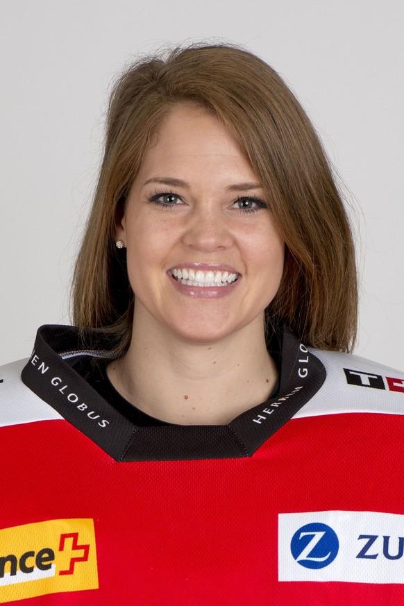 06.11.2014; Monthey; Eishockey - Team Schweiz; Fototermin Schweizer Nationalmannschaft; Florence Schelling (SUI) (Nick Soland/freshfocus)