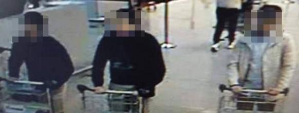 Verdächtige des Terror Anschlags in Brüssel