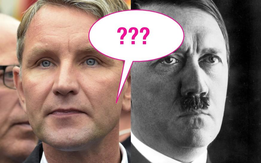 Nach Interview-Eklat im ZDF: Höcke oder Hitler – wer hat's gesagt?