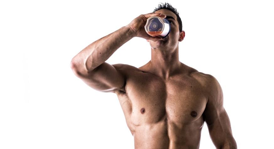eiweißshake trinken ohne training
